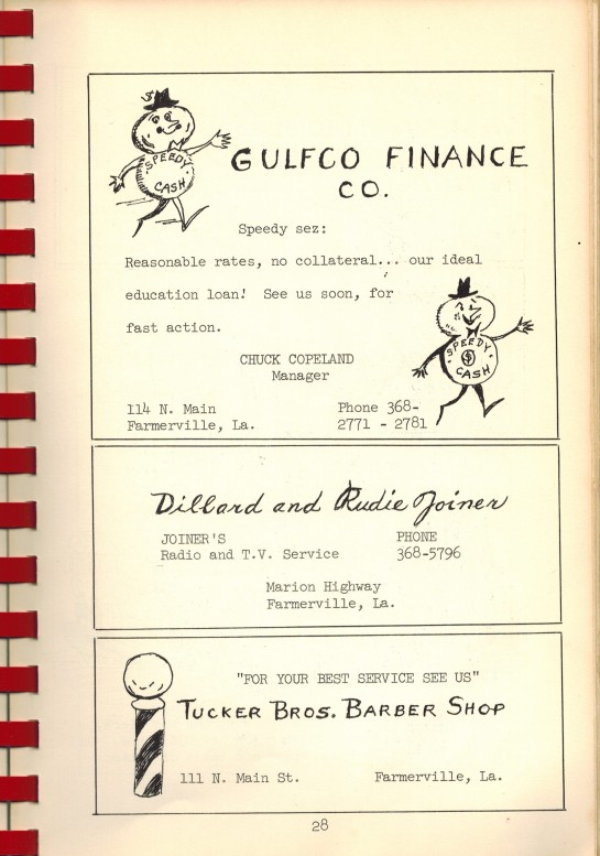 Darbonne Cookbook Gulfco Finance