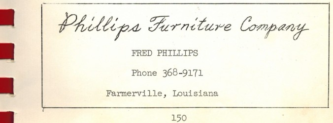 Phillips Furniture Company