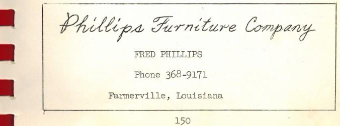 Phillips Furniture Company